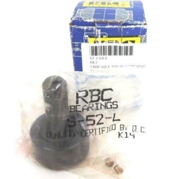 """NIB RBC CF-1-5/8-S CAM FOLLOWER S52L, 1.625""""ODX.875W, 1.500"""" STUD L, 5/8"""