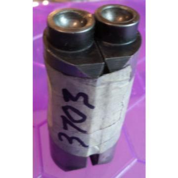 3703 - ONE PAIR OF NORTON DOMINATOR CAM FOLLOWERS - NEWLY REGROUND - RADIUSSED