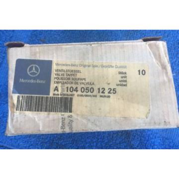 Mercedes 8 x Hydraulic Valve Lifter Tappet r170 w124 r129 w140 Cam Follower OEM