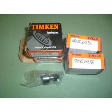 TIMKEN KR19C 2RS SK......... CAM FOLLOWERS.... X 4 UNITS ... NEW PACKAGED  BOXED