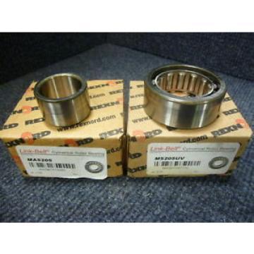 Link-Belt M5205UV Cylindrical Roller Bearing W/ Inner Cam Follower MA5205