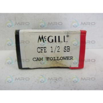 MCGILL CFE-1/2-SB CAM FOLLOWERS *NEW IN BOX*