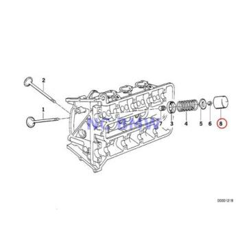 4 X BMW Genuine Motorcycle Timing Gear Cam Follower 3.00MM 89V1 89V2 89V3 K41