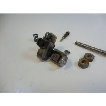Carburetor carb cam follower roller lever needle valve parts lot 1973 6 hp
