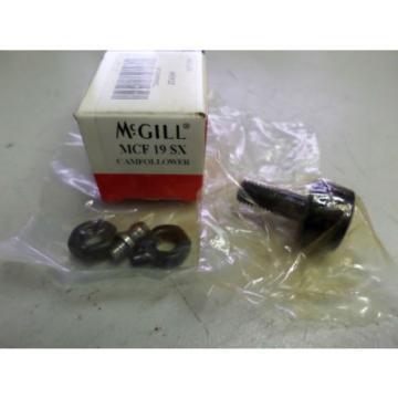 McGILL CAM FOLLOWER - MCF-19-SX - 19mm OD x 8mm Shaft - BRAND NEW