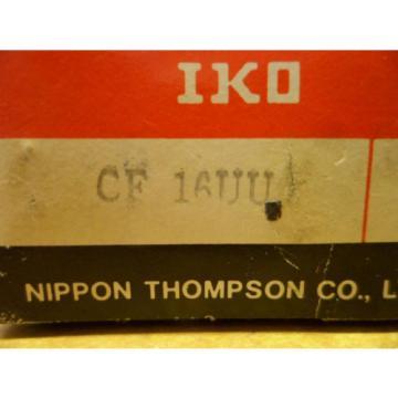 IKO CF 16UU CAM FOLLOWER  ROLLER NOS