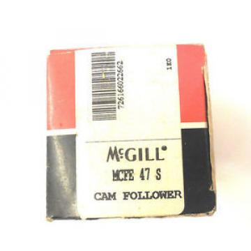 NEW MCGILL MCFE 47 S  CAM FOLLOWER MCFE47S