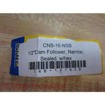 """Carter CNB-16-NSB Cam Follower - 1/2"""" CNB16NSB (Pack of 3)"""