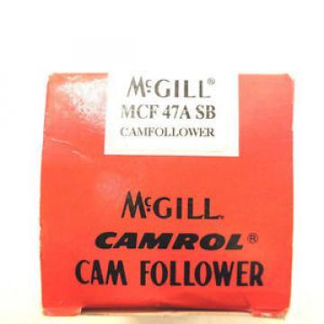 NEW MCGILL MCF-47A-SB CAM FOLLOWER MCF47ASB