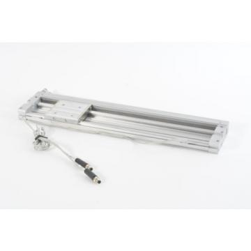 SMC MY2C16G-300 Mechanically Jointed Rodless Cylinder w/ Cam Follower Guide