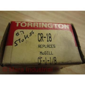 Torrington CR-18 Cam Follower Standard Stud