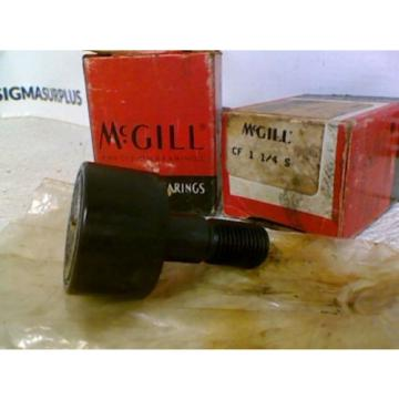 NEW! McGill CF 1-1/4 S Lubri-Disc Sealed Cam Follower * Lot of 2*