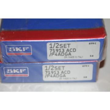 SKF 71913 ACD/P4ADGA Super Precision Bearings (Fafnir 2MM9313)  * NEW *