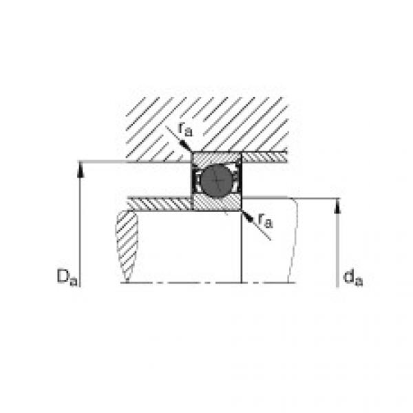 Spindle bearings - HCB71910-C-2RSD-T-P4S #2 image