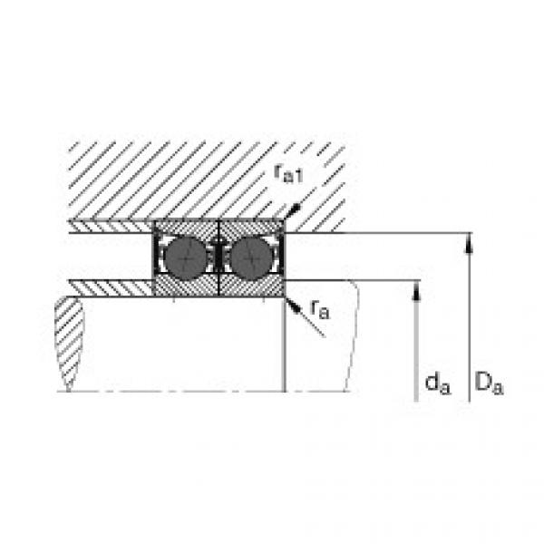 Spindle bearings - HCB71915-C-2RSD-T-P4S #3 image