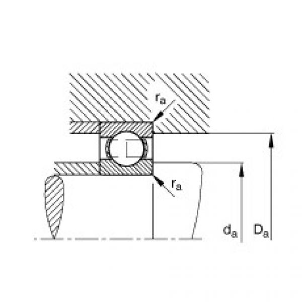 Deep groove ball bearings - 6317 #2 image