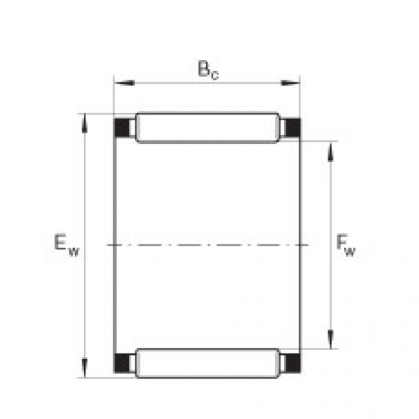 Needle roller and cage assemblies - K25X35X30 #1 image