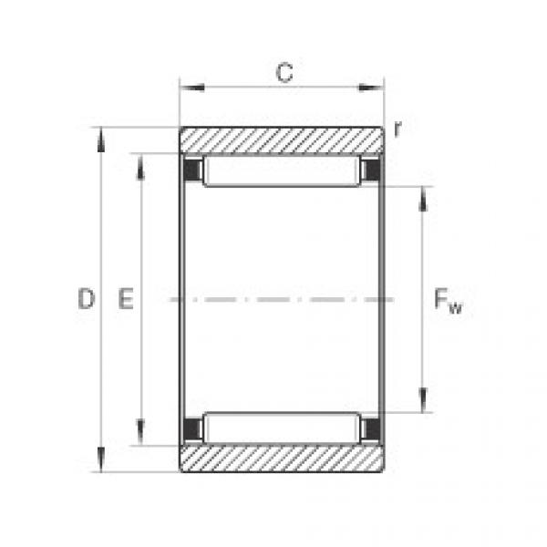 Needle roller bearings - RNAO22X30X13-XL #1 image