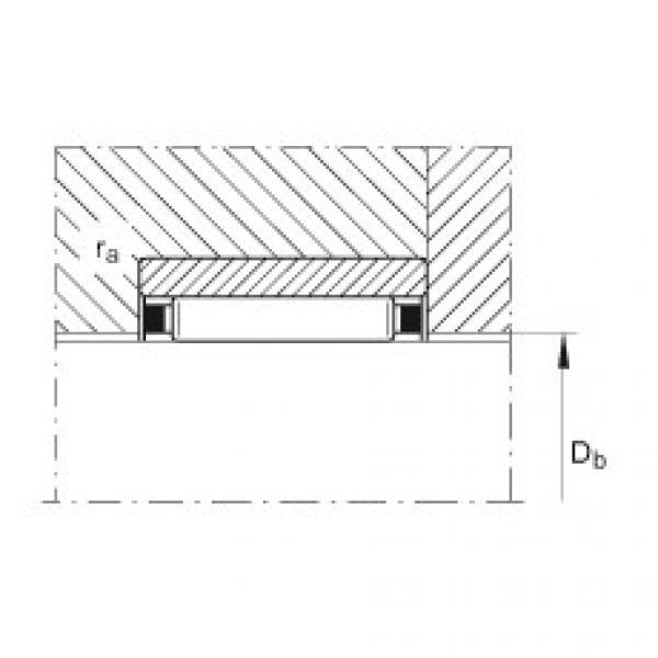 Needle roller bearings - RNAO22X30X13-XL #2 image