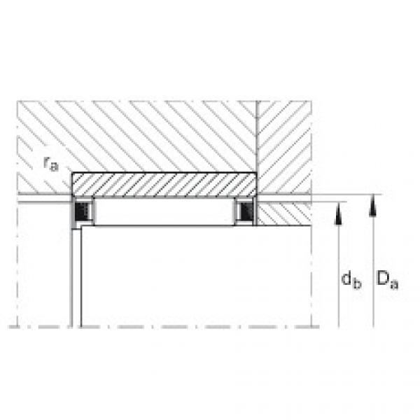 Needle roller bearings - RNAO22X30X13-XL #3 image