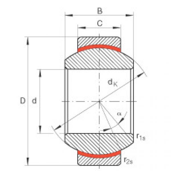 Radial spherical plain bearings - GE17-FW #1 image
