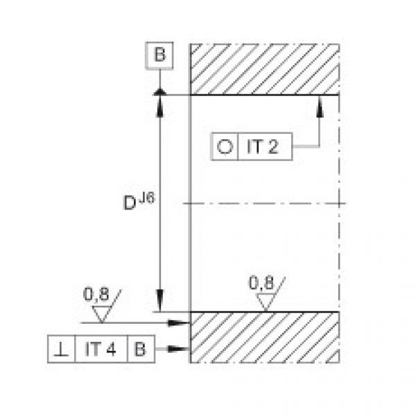 Angular contact ball bearing units - ZKLFA1050-2Z #2 image