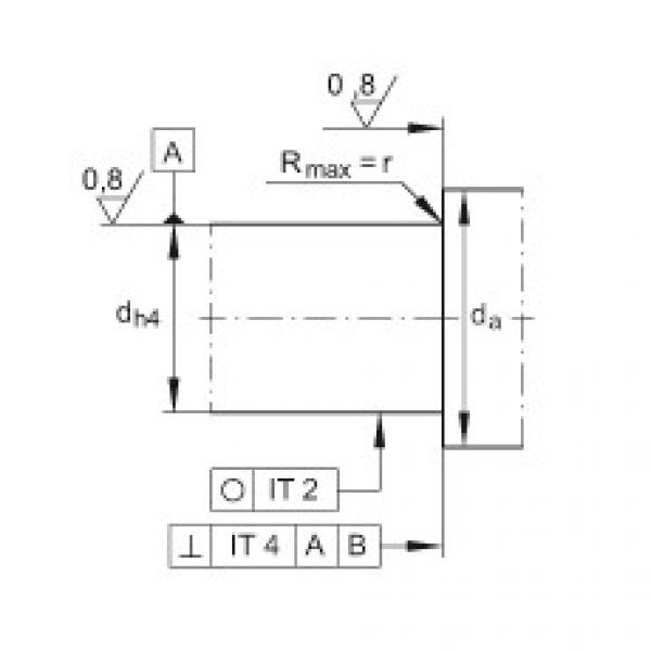 Angular contact ball bearing units - ZKLFA1050-2Z #3 image