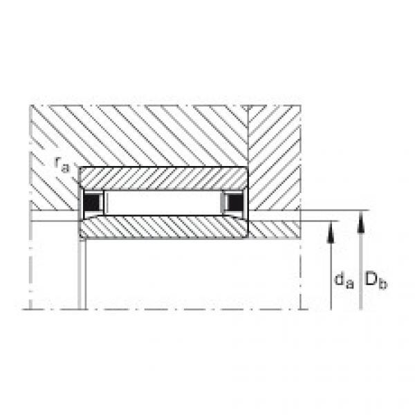 Needle roller bearings - NAO90X120X30-XL #2 image