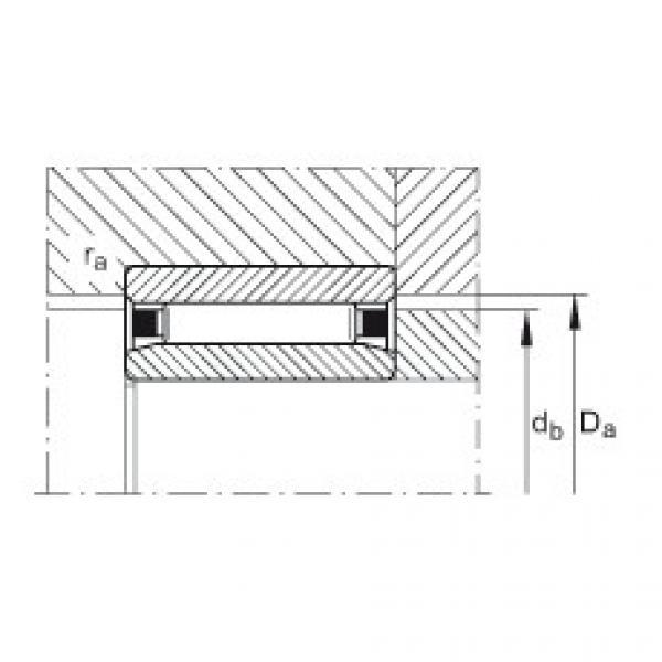 Needle roller bearings - NAO90X120X30-XL #3 image