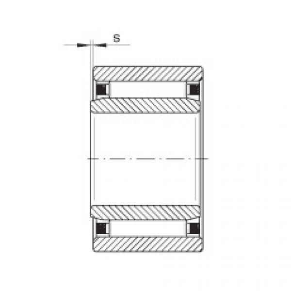 Needle roller bearings - NAO90X120X30-XL #4 image