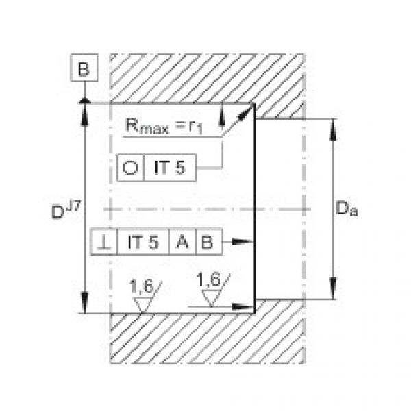 Axial angular contact ball bearings - ZKLF2575-2RS-PE #3 image