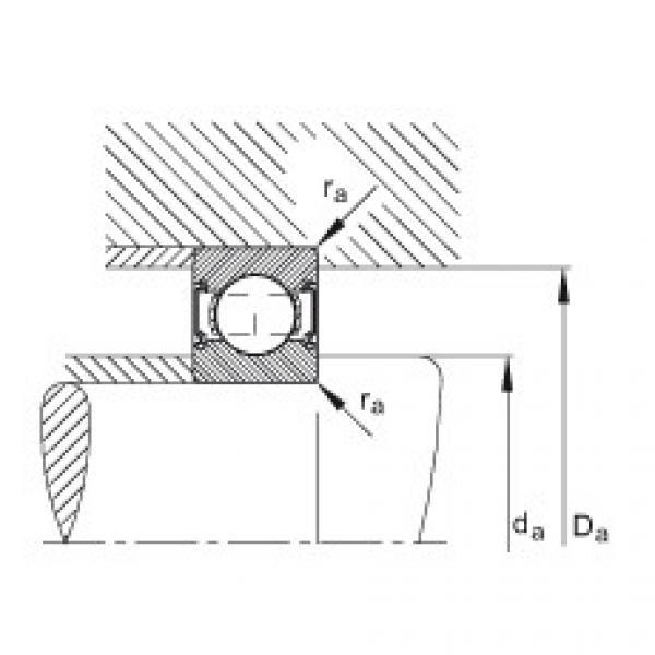 Deep groove ball bearings - 6202-C-2HRS #2 image