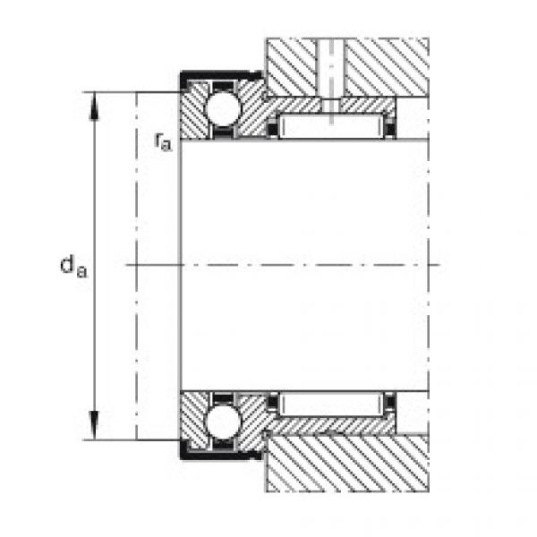 Needle roller/axial ball bearings - NKX20-XL #2 image