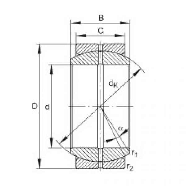 Radial spherical plain bearings - GE20-DO #1 image