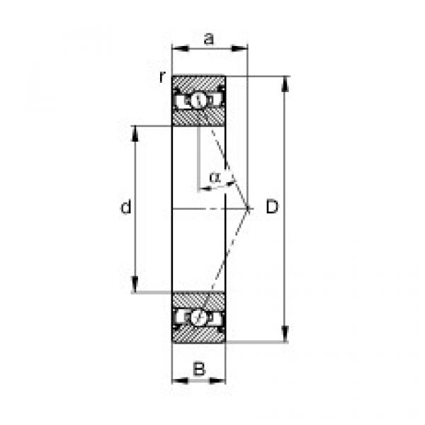 Spindle bearings - HSS7016-E-T-P4S #1 image
