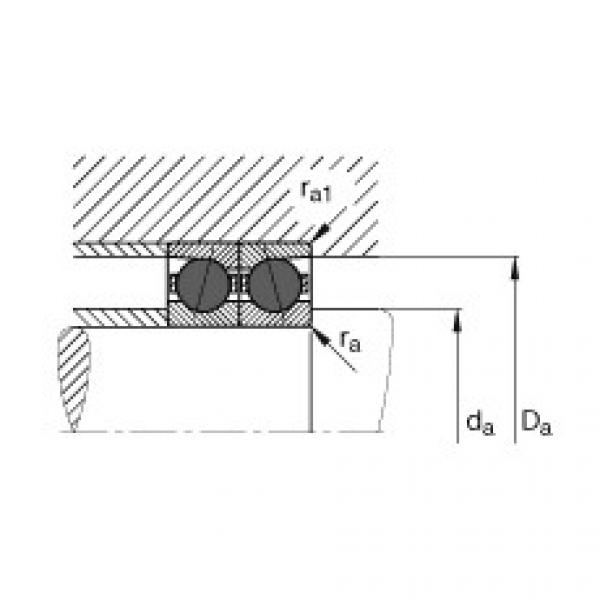 Spindle bearings - HCB7017-E-T-P4S #3 image