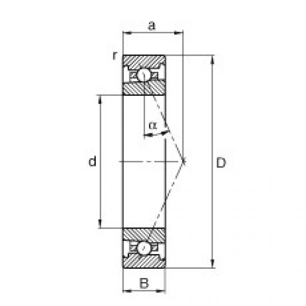 Spindle bearings - HS71919-E-T-P4S #1 image