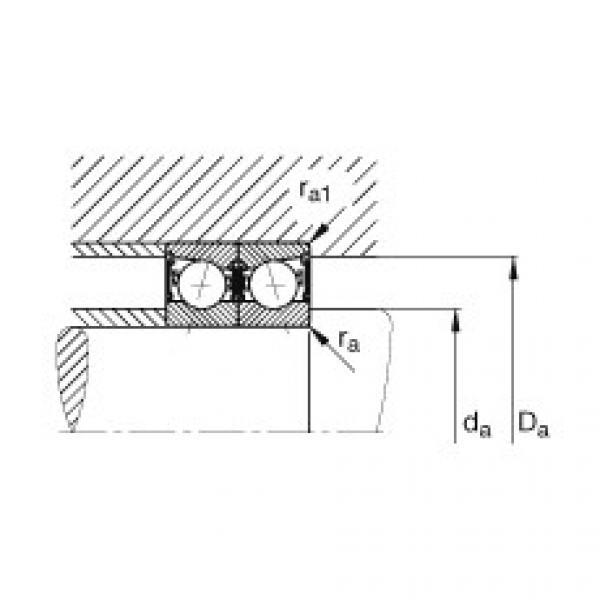 Spindle bearings - B71905-E-2RSD-T-P4S #3 image