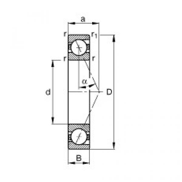 Spindle bearings - B71919-E-T-P4S #1 image