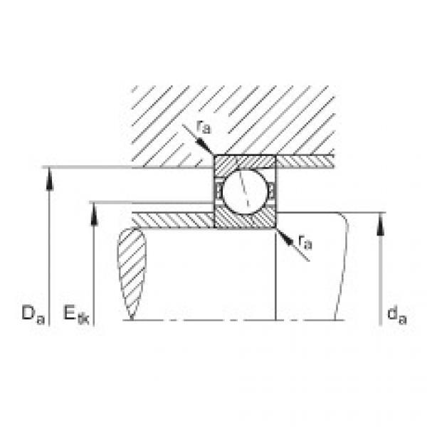 Spindle bearings - B7217-C-T-P4S #2 image