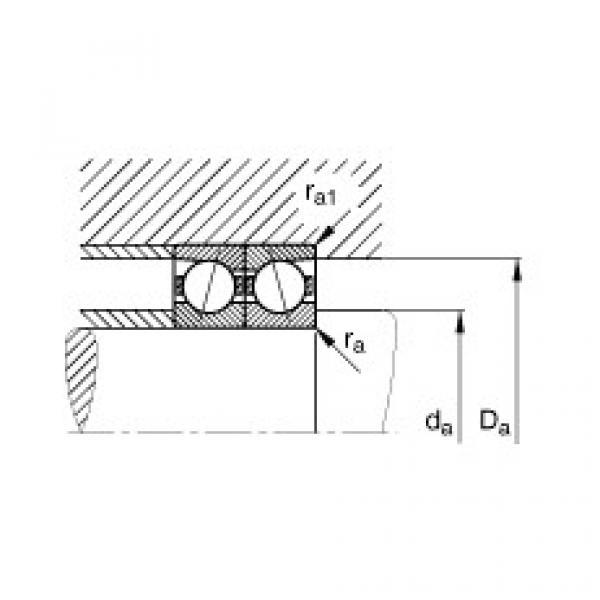 Spindle bearings - B7217-C-T-P4S #3 image