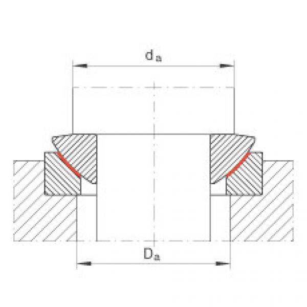 Axial spherical plain bearings - GE70-AW #2 image