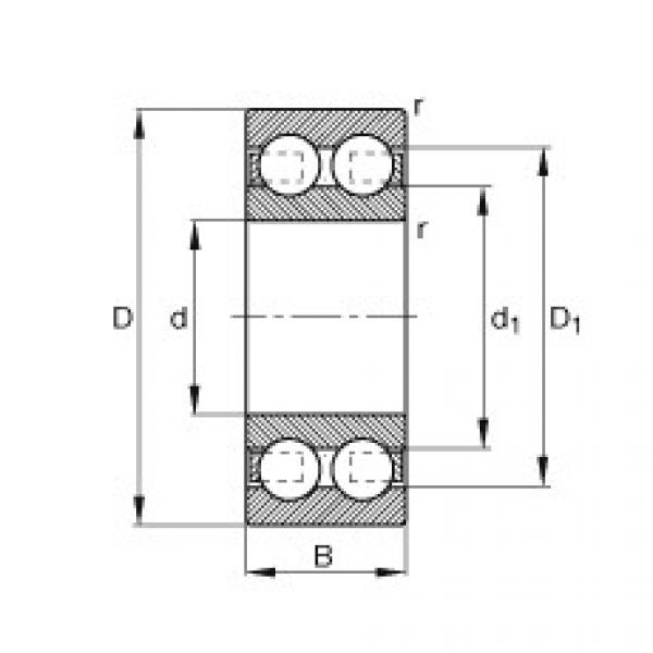 Deep groove ball bearings - 4310-B-TVH #1 image