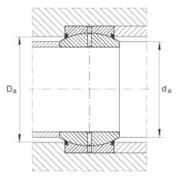 Radial spherical plain bearings - GE20-DO-2RS #2 image