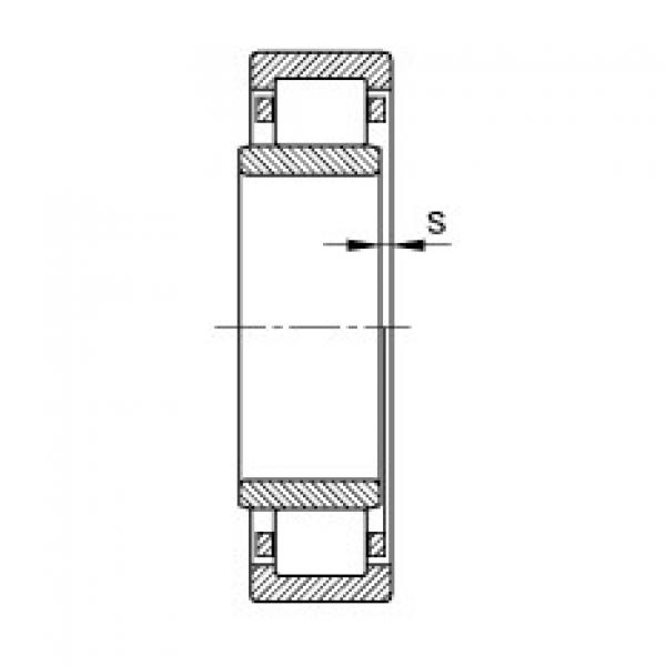 Cylindrical roller bearings - NU1076-M1 #2 image
