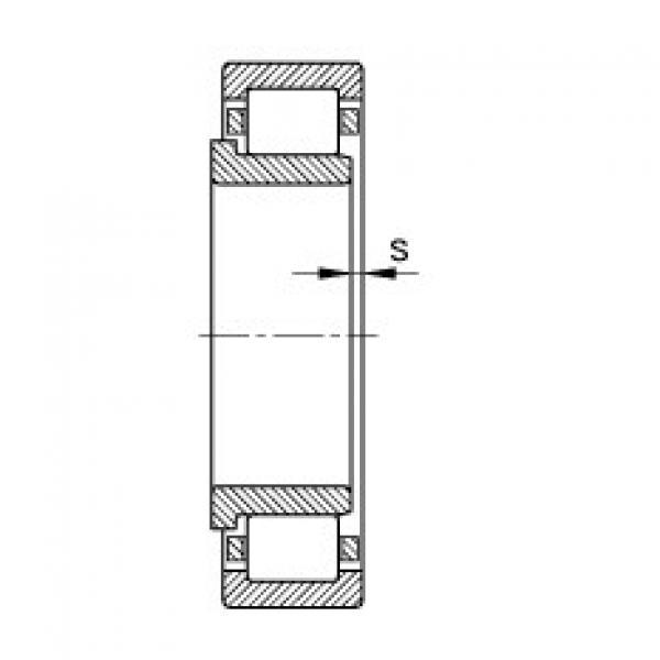 Cylindrical roller bearings - NJ320-E-XL-TVP2 #2 image