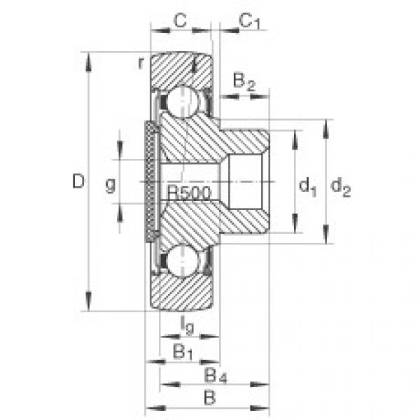 Stud type track rollers - ZL202-DRS #1 image