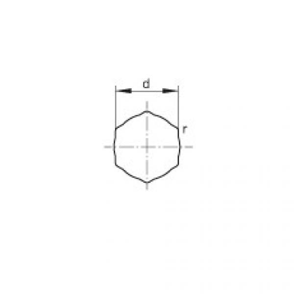 Self-aligning deep groove ball bearings - SK100-206-KRR-AH11 #2 image