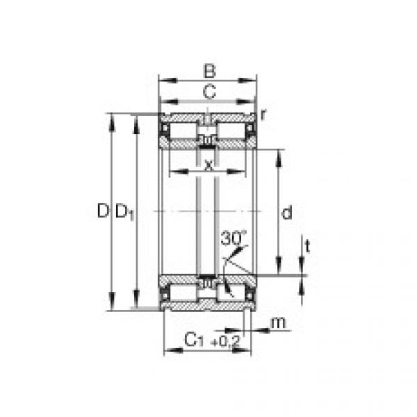 Cylindrical roller bearings - SL045015-PP #1 image