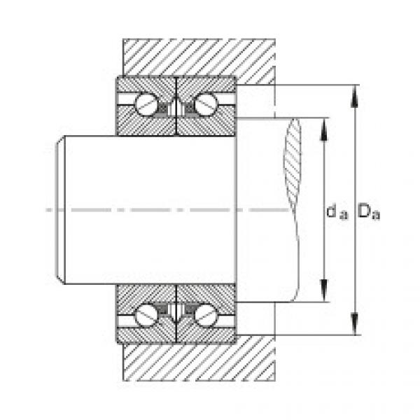 Axial angular contact ball bearings - BSB2562-SU #2 image